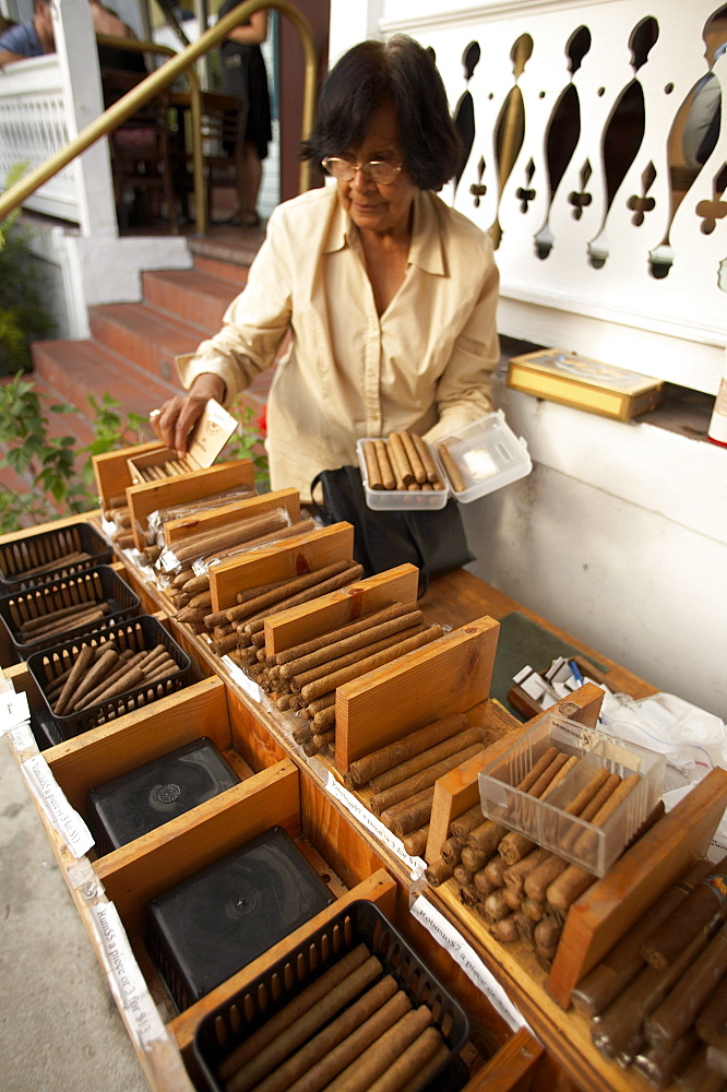 Cigar shop on Duval Street, Key West, Florida Keys, Florida USA