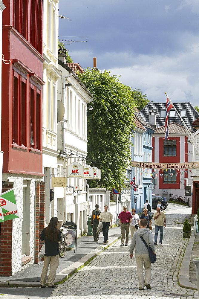 Lille Ovregaten, Bergen, Hordaland, Norway
