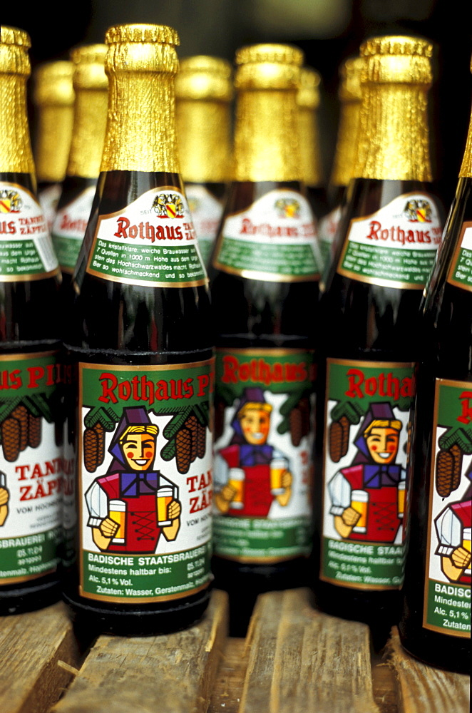 Black Forest Beer, Tannenzaepfle, Black Forest, Baden Wuerttemberg, Germany, Europe