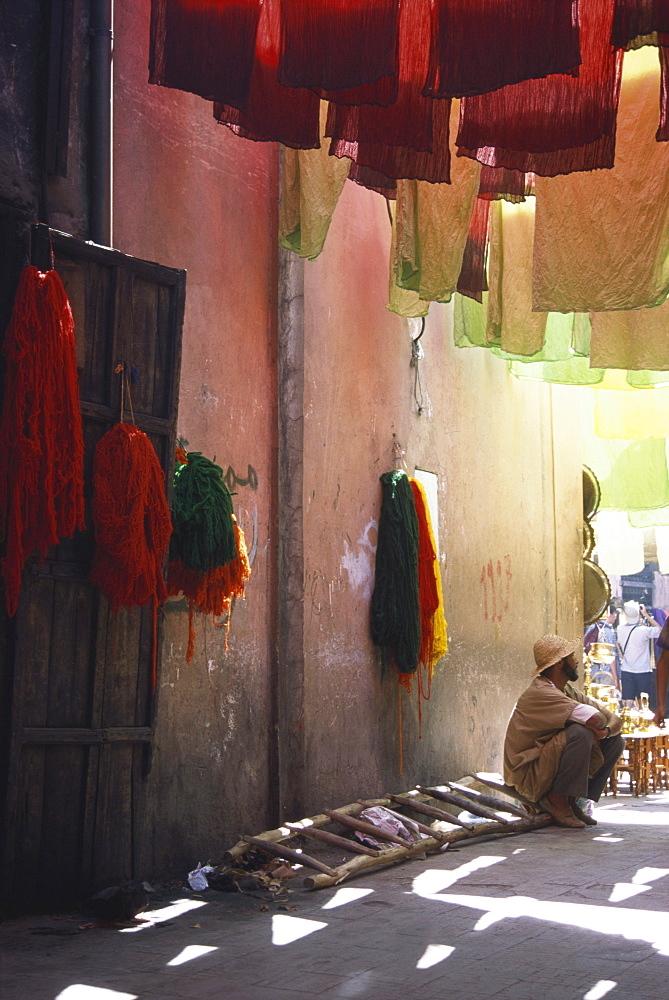 Dyers Souk, Marrakech, Morocco