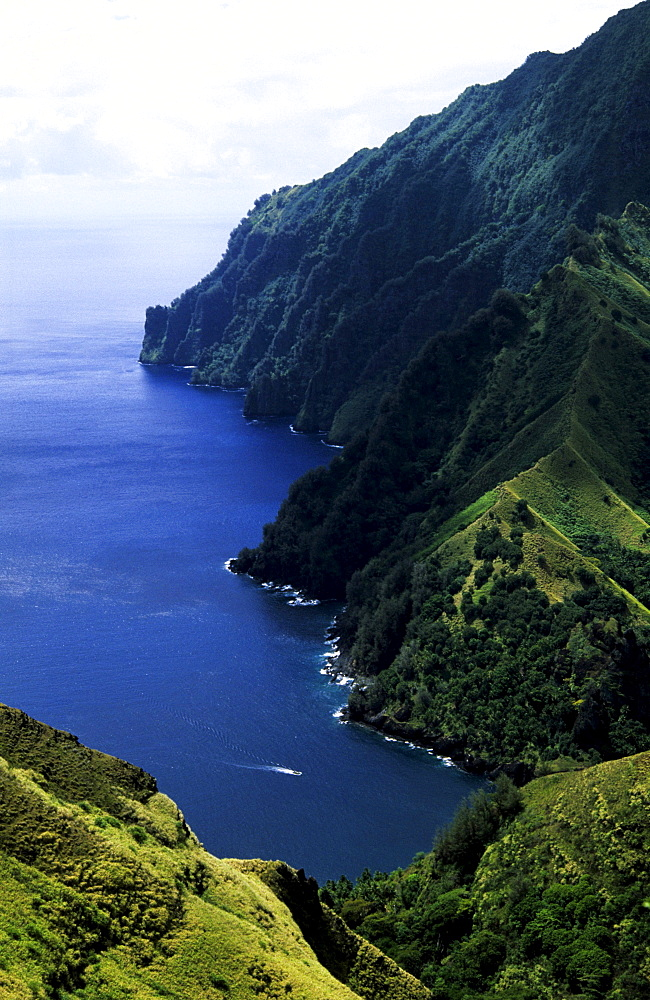 Virgin Bay, Fatu Hiva, Marquesas, French Polynesia, South Pacific