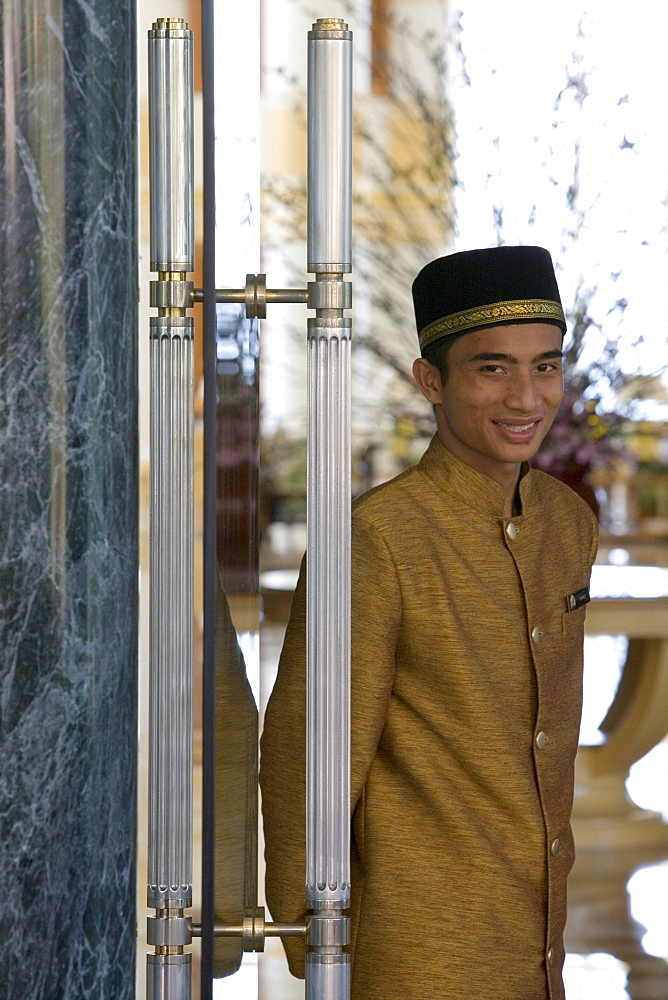 Doorman, The Empire Hotel Country Club, Brunei Darussalam, Asia