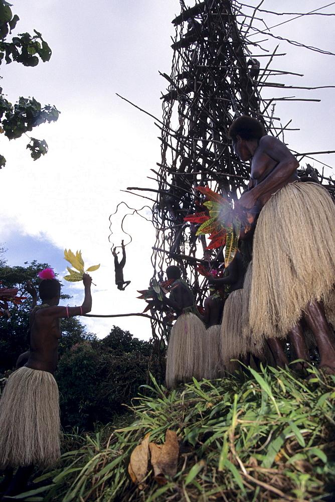 Pentecost Landdiving Ceremony, Pentecost, Vanuatu
