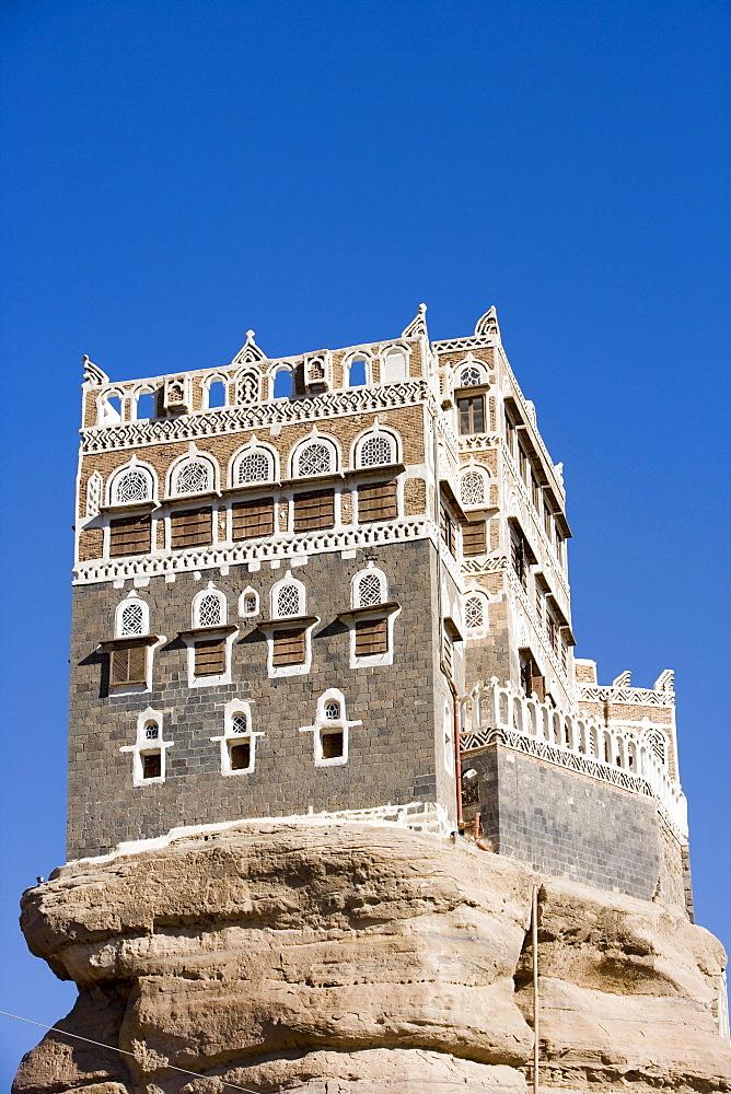 Dar al-Hajar Rock Palace, Wadi Dhar, near Sana'a, Yemen
