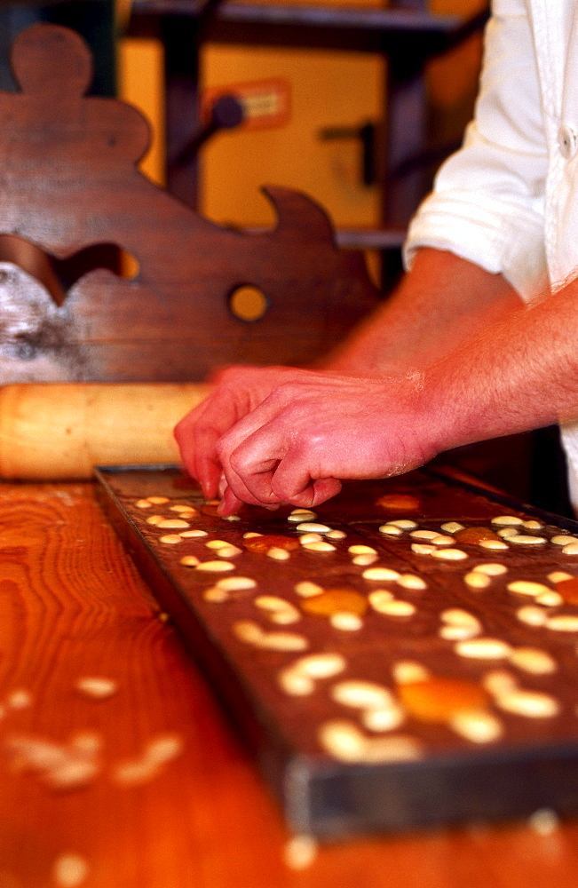 Gingerbread in bakery, Bavaria, Germany