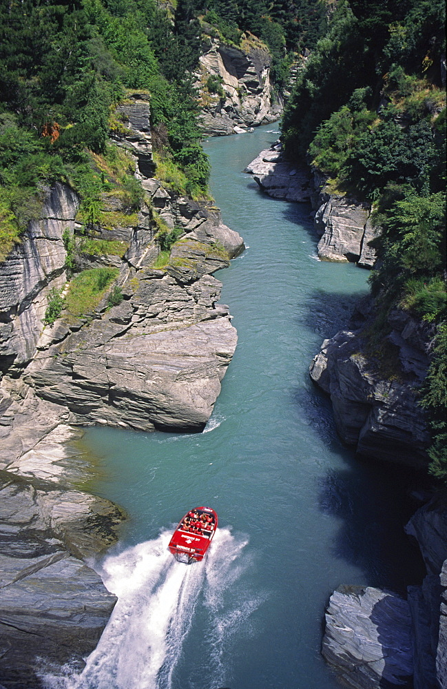 Queenstown, New Zealand, Shotover river Jet boat - 1113-77635