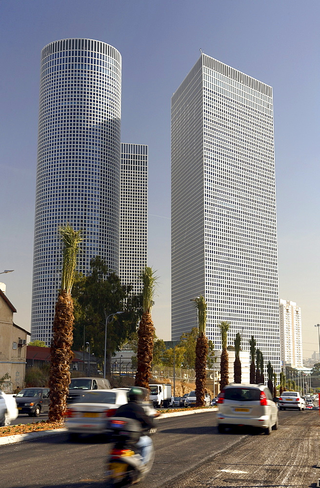 The Azrieli Center, Tel Aviv, Israel