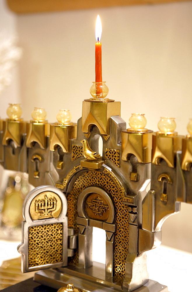 Hanukkah Menorah, Tel Aviv, Israel
