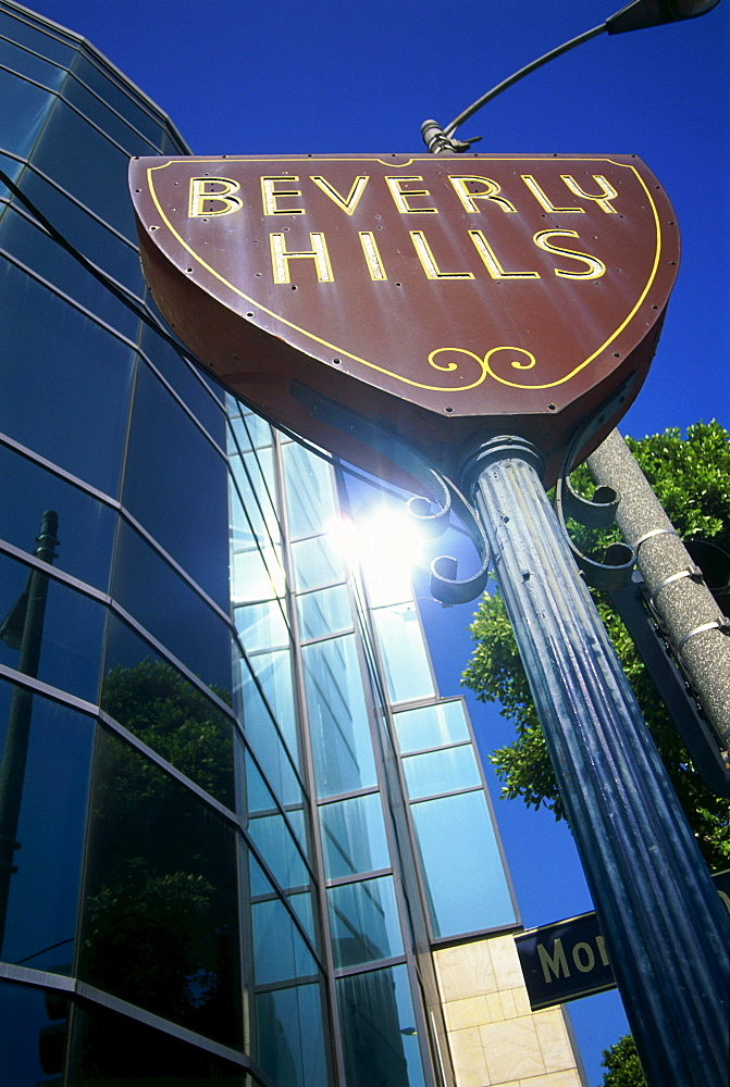 Beverly Hills Schild, L.A., Los Angeles, California, USA
