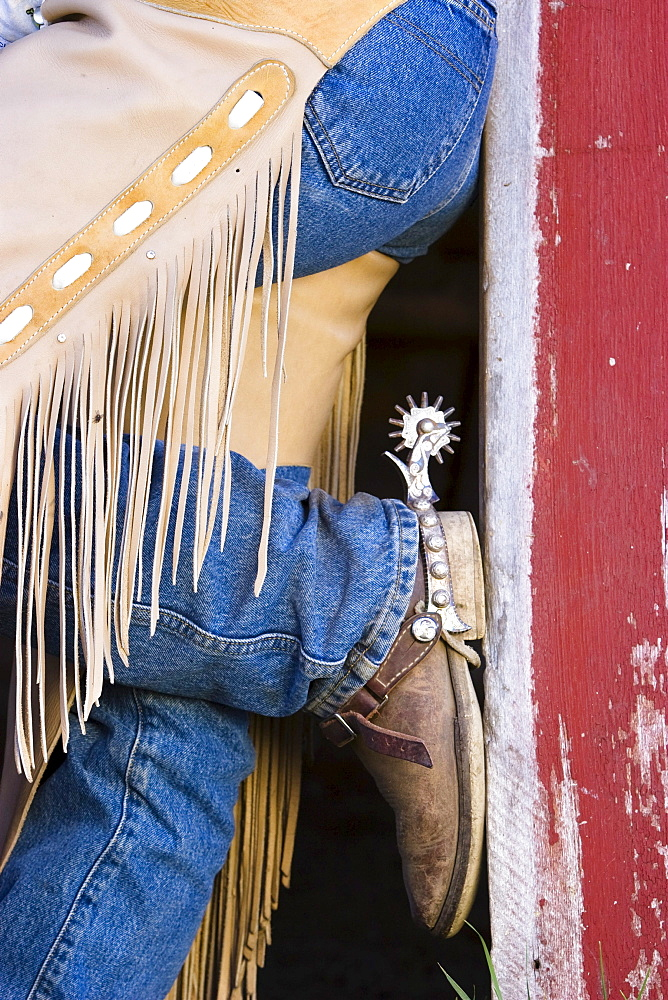 cowgirl, cowboy boots, wildwest, Oregon, USA