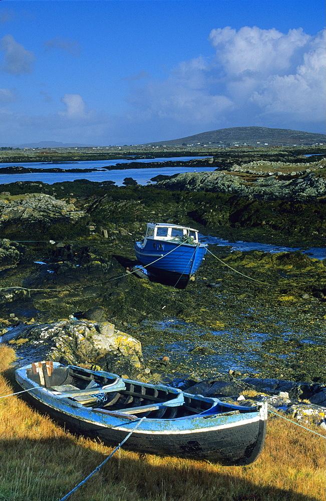 Europe, Great Britain, Ireland, Co. Galway, Connemara, Lettermullan peninsula