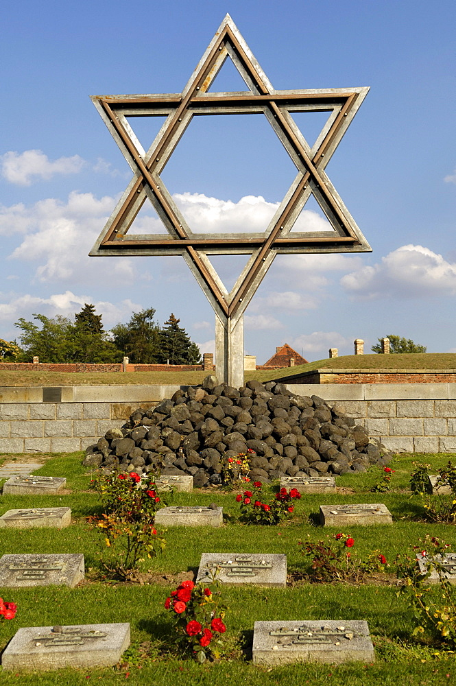 Concentration camp memorial, Teresienstadt, Terezin, Czech Republic
