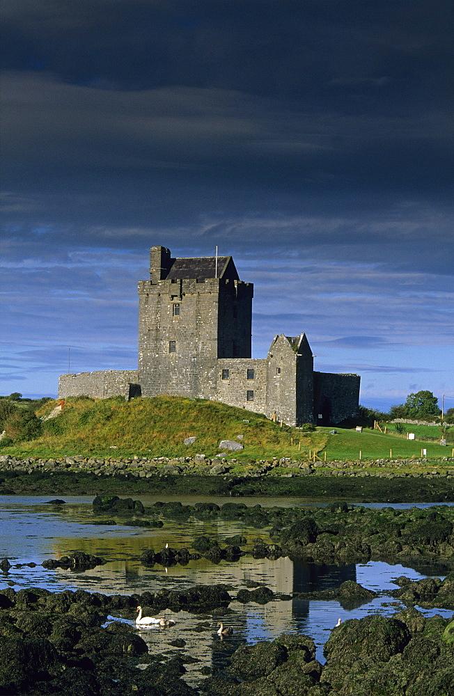 Dunguaire Castle, Kinvarra, Co. Galway, Ireland, Europe