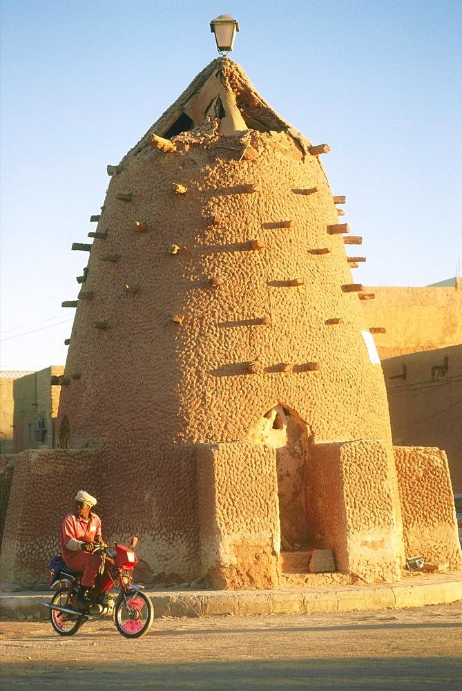Storehouse, oasis city Timimoun, Algeria