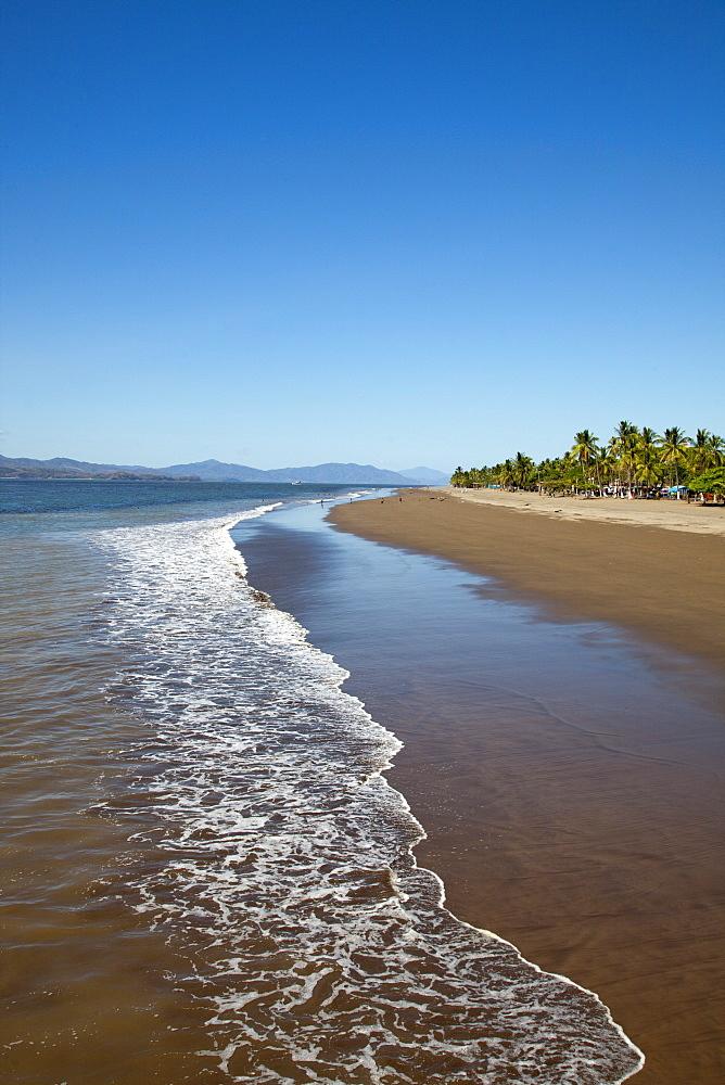 Puntarenas sandy beach, Puntarenas, Costa Rica, Central America