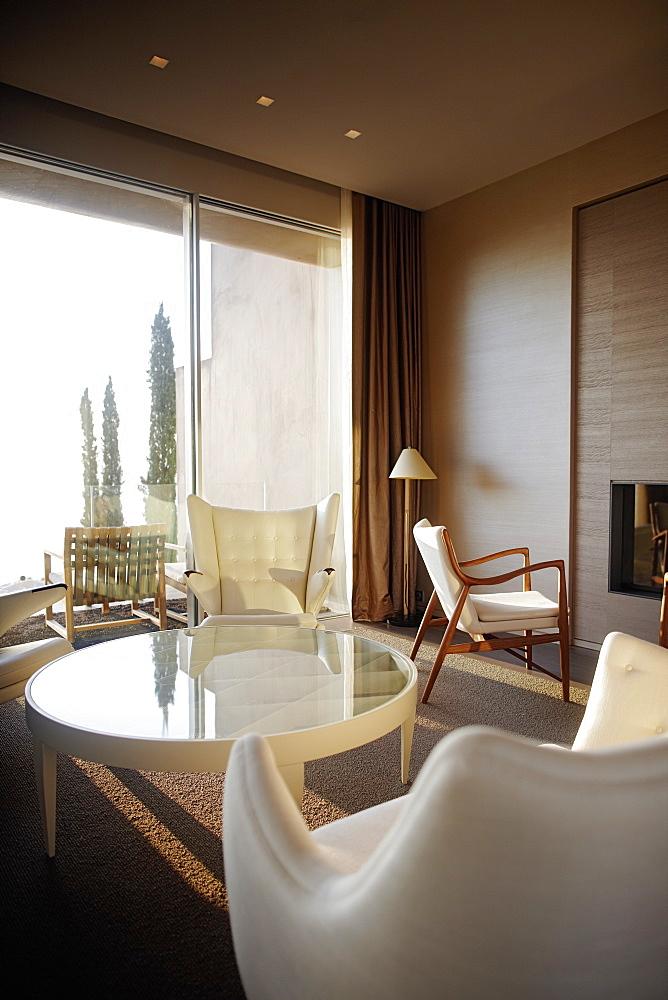 Lounge of Hotel La Reserve Ramatuelle, Chemin de la Quessine, Ramatuelle, France