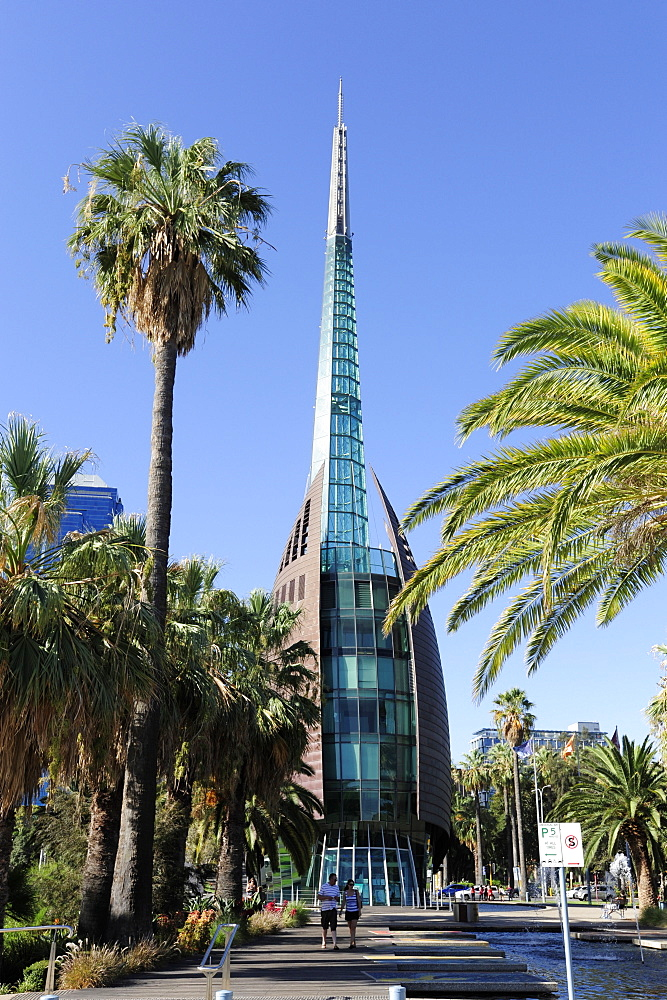 Swan Bell Tower at the Barrack Square, Perth, Western Australia, WA, Australia