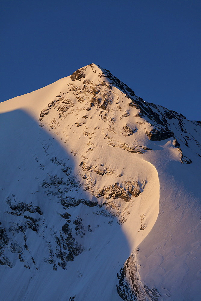 Mount Wyssi Frau, Bluemlisalp mountains, Bernese Oberland, Canton of Bern, Switzerland