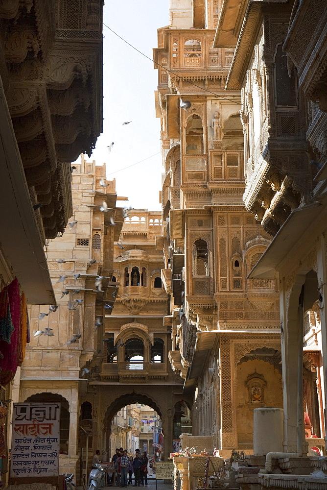 The Patwa Haveli, Jaisalmer, Rajasthan, India