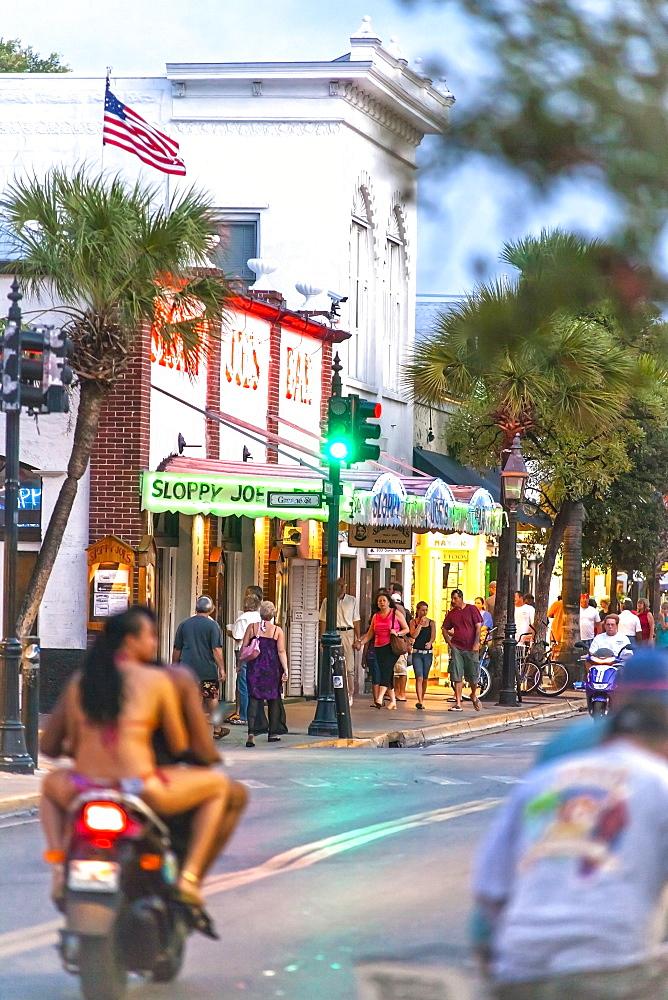 The famous bar pub Sloppy Joe's in Key West, Florida Keys, Florida, USA