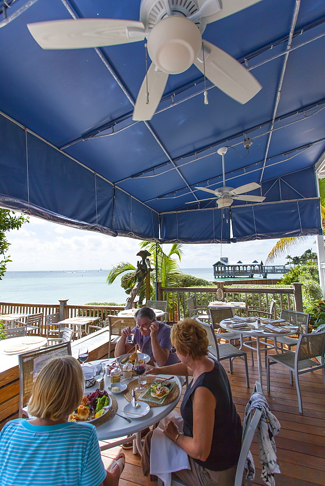 Restaurant Louie's Backyard, Key West, Florida Keys, Florida, USA