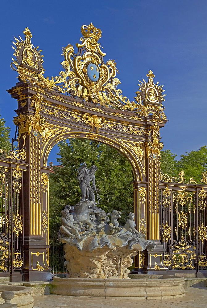 La Place Stanislas in Nancy, Unesco World Cultural Heritage, Meurthe-et-Moselle, Region Alsace-Lorraine, France, Europe
