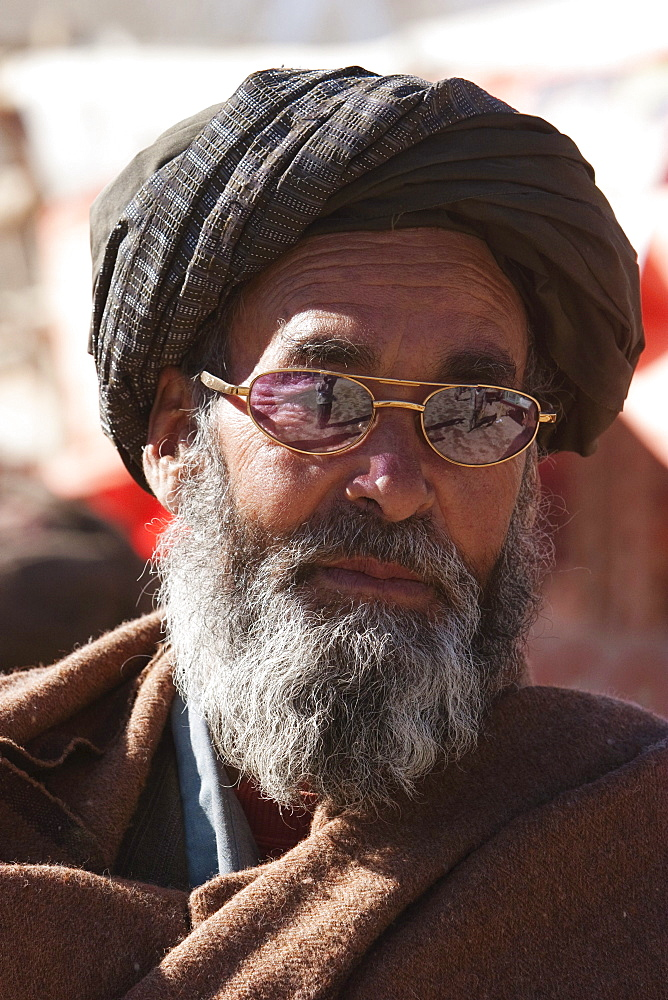 Afghan man in Bamiyan, Bamian Province, Afghanistan