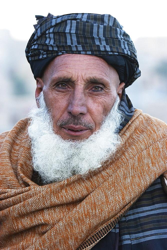 Old Pashtun man in Sarobi, Kabul Province, Afghanistan