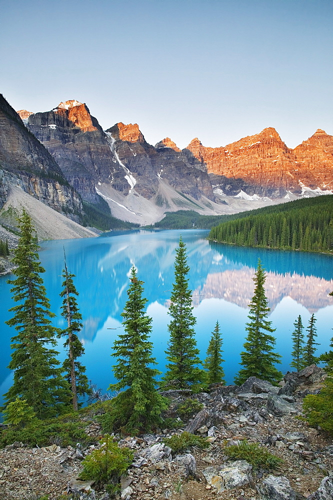 Moraine Lake, Banff National Park, Alberta.