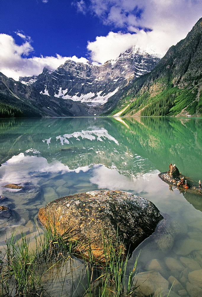 Chephren Lake, Banff National Park, Alberta.