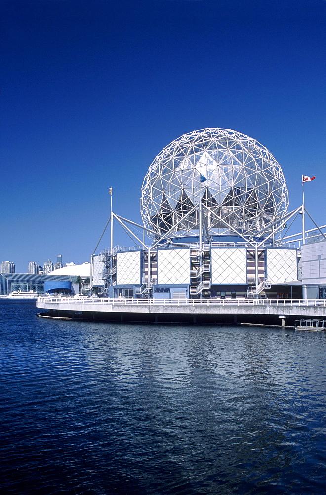Science World, False Creek, Vancouver, British Columbia.