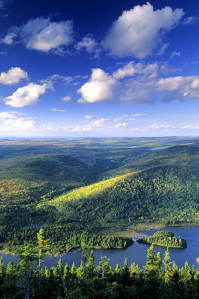 Mt. Sagamook overlook, Mount Carleton Provincial Park New Brunswick.