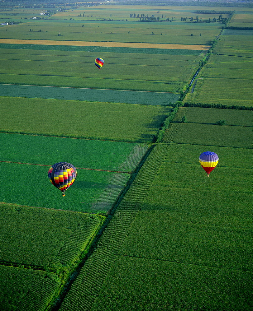 Hot Air Balloons, St Jean Sur Richelieu, Monteregie, Quebec