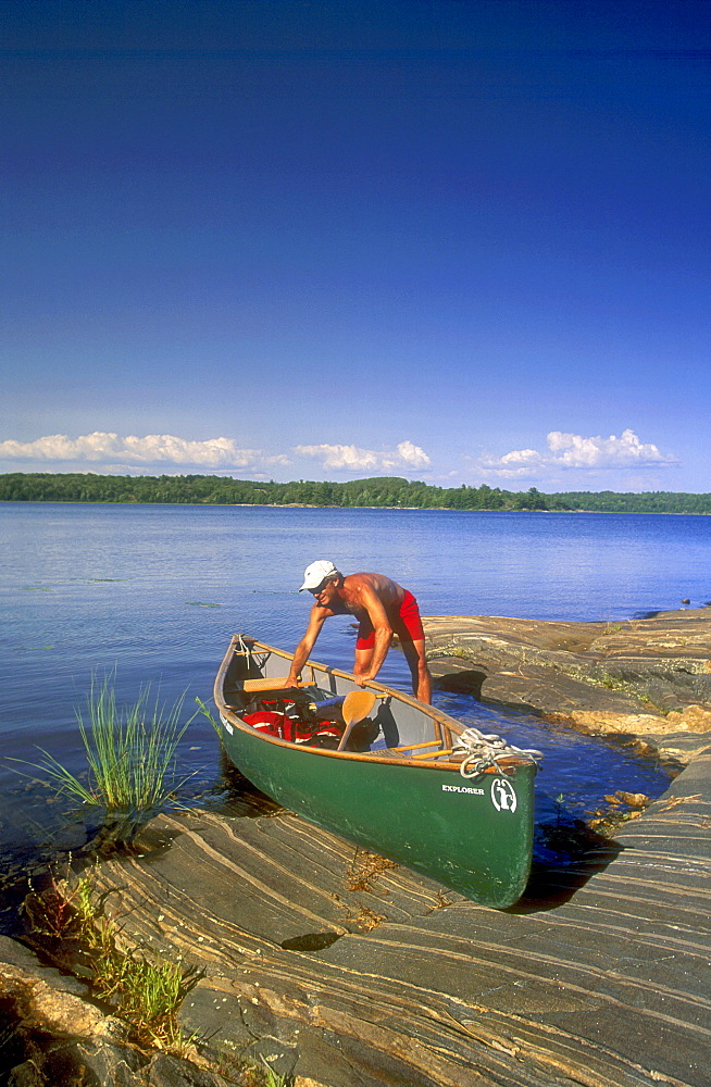 Blackstone Harbour, Georgian Bay, The Massasaga Provincial Park, Mactier, Ontario