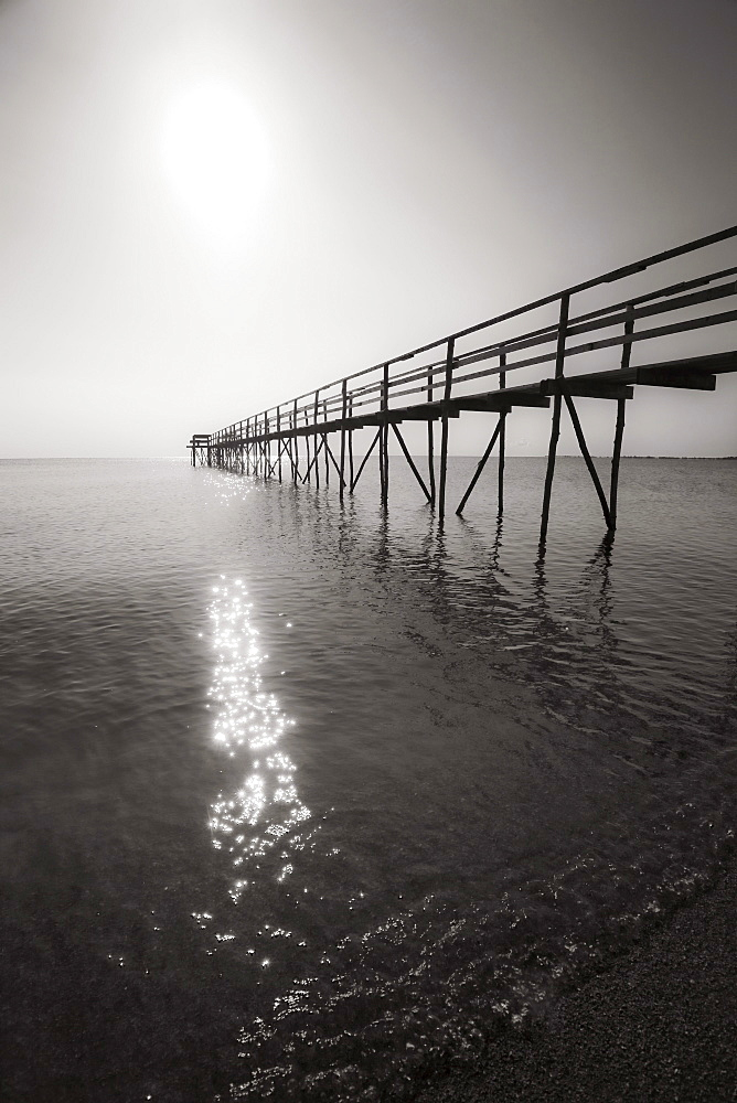 Pier on Lake Winnipeg, Matlock, Manitoba