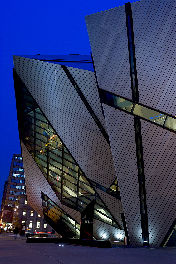 Michael Lee-Chin Crystal Building at the Royal Ontario Museum, Toronto, Ontario