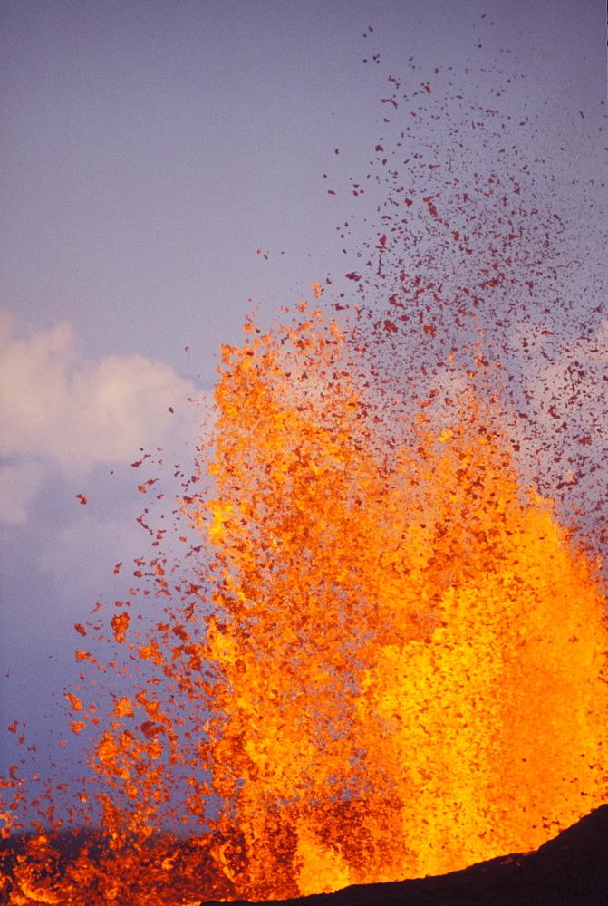 Hawaii, Big Island, Hawaii Volcanoes National Park, Volcanic eruption, Kilauea