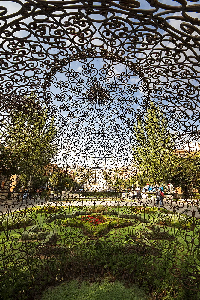 Tea Pavilion, sculpture by Joana Vasconcelos on display at the Cafesjian Museum of Art in the Yerevan Cascade, Yerevan, Armenia