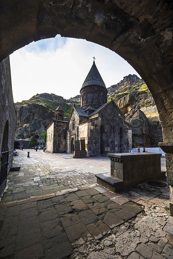 Church of the Holy Mother of God at Geghard Monastery, Azat Valley, Kotayk, Armenia