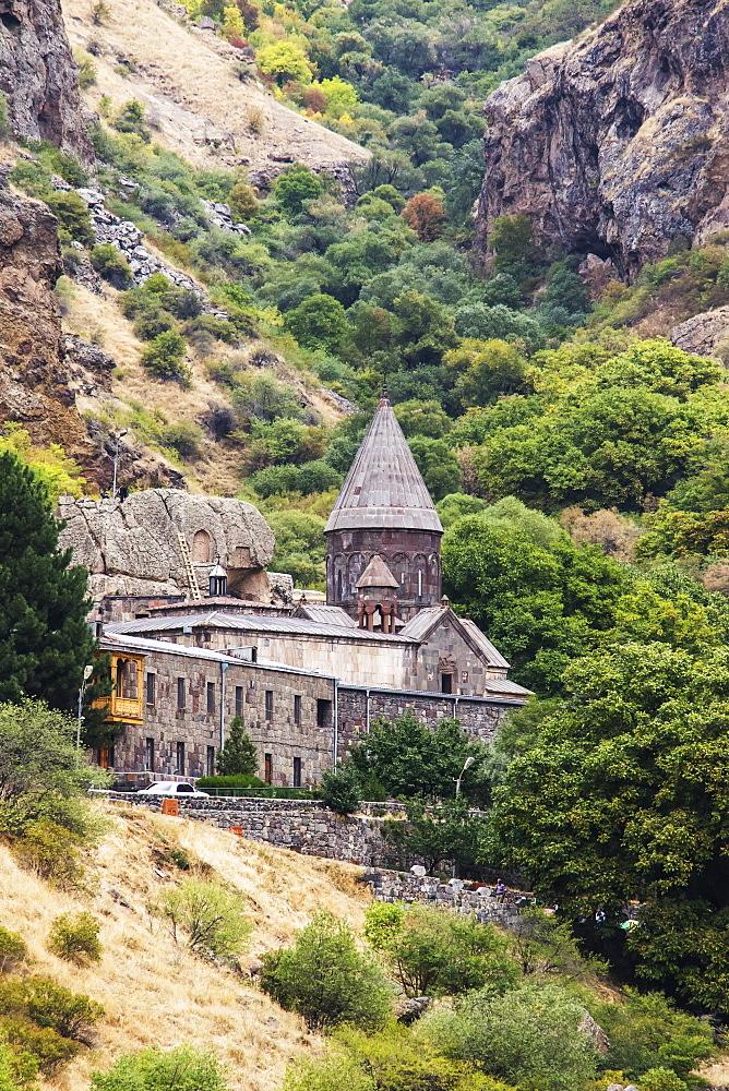 Geghard Monastery, Azat Valley, Kotayk, Armenia