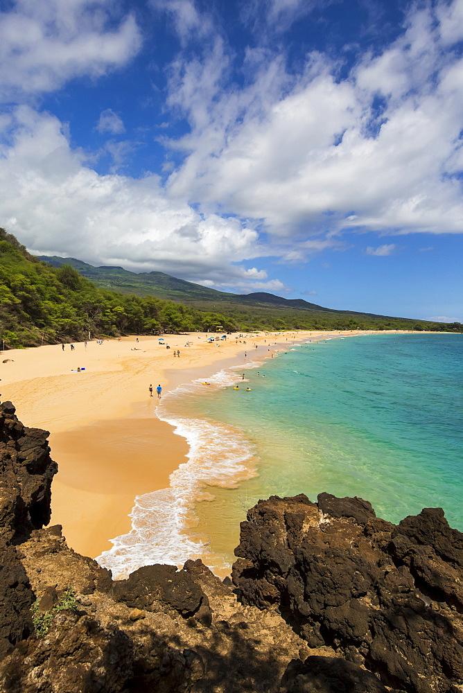 Makena Beach, also called Big Beach, Maui, Hawaii, United States of America