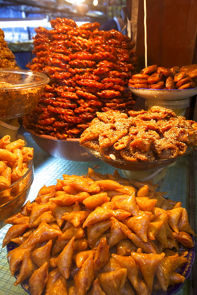 Moroccan pastries, Fez, Morocco, North Africa, Africa
