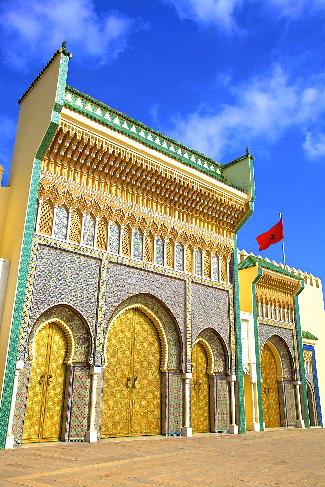 Royal Palace, Fez, Morocco, North Africa, Africa