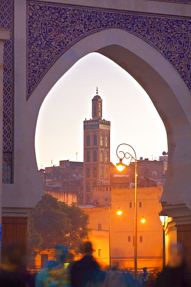 R'Cif Square (Place Er-Rsif), Fez, Morocco, North Africa, Africa