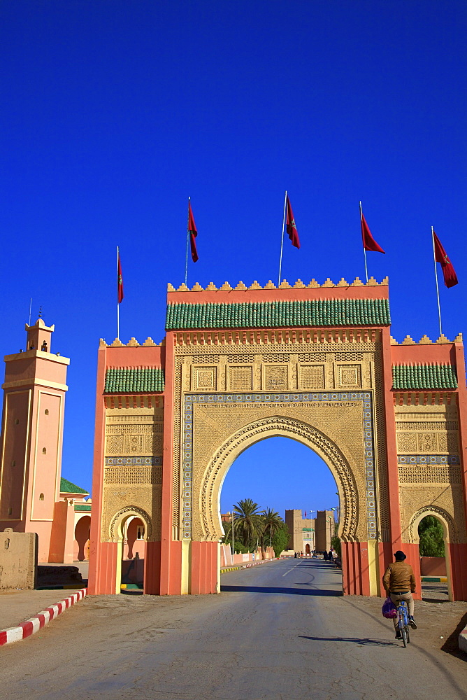 City Gate, Rissani, Morocco, North Africa, Africa