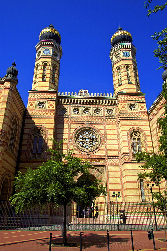 Dohany Street Synagogue and Hungarian Jewish Museum, Budapest, Hungary, Europe