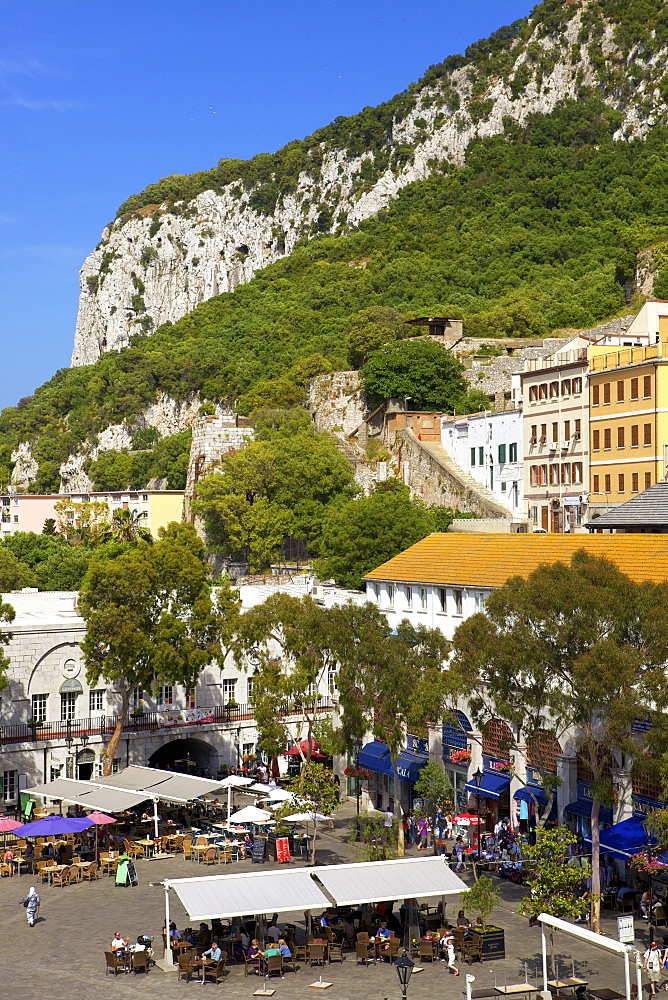 Grand Casemates Square, Gibraltar, Europe