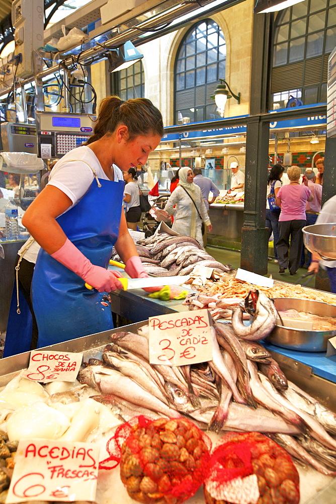 Market, Jerez de la Frontera, Cadiz Province, Andalucia, Spain, Europe