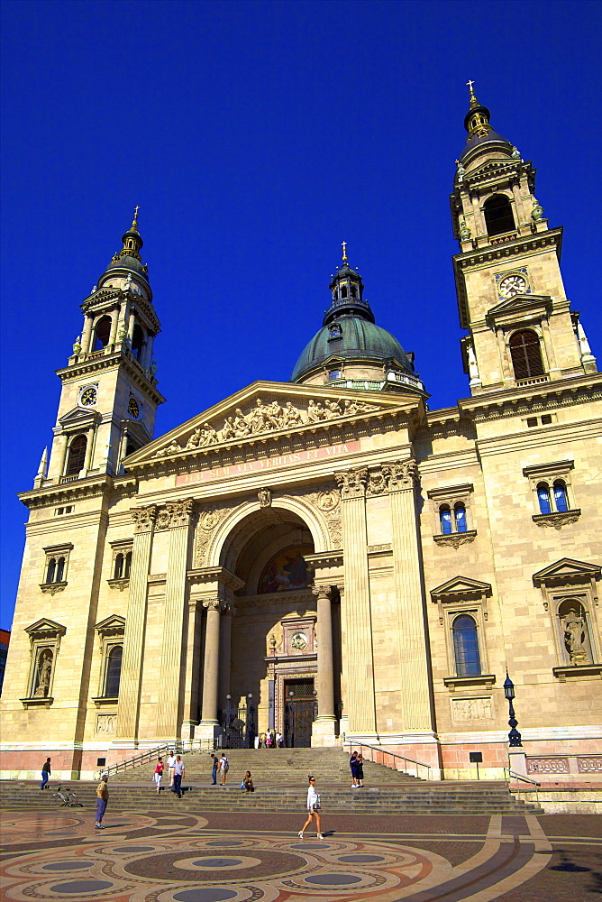 St Stephen's Basilica, Budapest, Hungary, East Central Europe