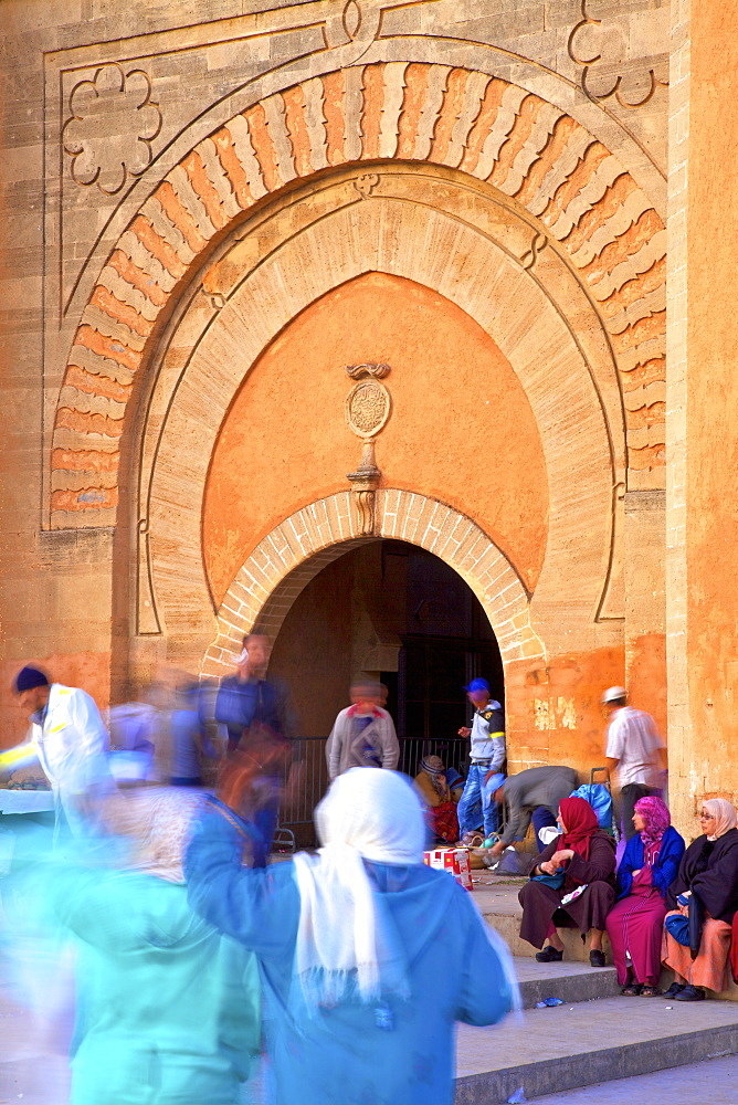 Bab El Had, Rabat, Morocco, North Africa, Africa